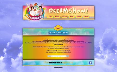 Dream Show website